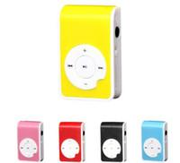 beautiful media player - Beautiful Gift Brand New Mini Clip Metal USB MP3 Player Support Micro SD TF Card Music Media Dec07