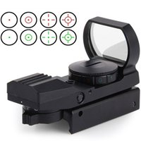 Wholesale Hunting Tactical mm mm Holographic x22x33 Reflex Red Green Dot Sight Scope with CR2032 Battery