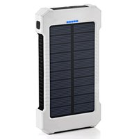 Wholesale Hot selling Solar power bank F5 mAh suitable for Cell phone Laptop Camera MP4 With Flashlight w solar power warterproof