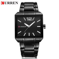 atm steel - CURREN Men New Fashion Sports Watches Quartz Analog Man Business Quality All Steel Watch ATM Waterproof