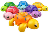 baby army crawl - Learning to crawl cute little turtle on the chain clockwork little turtle baby toys baby will be chasing its tail