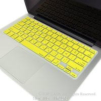 arabic keyboard cover - Arabic Letter Arab Keyboard Protector Cover Skin film USA version for Apple Mac MacBook Air Pro Retina
