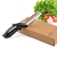 Wholesale Clever Cutter Cutting Board And Knife Stainless Steel Clamshell