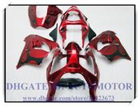 Wholesale High quality brand new fairing kit fit for Kawasaki Ninja ZX9R Ninja ZX9R BG835 RED