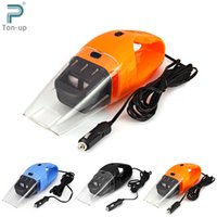 Wholesale Car Vacuum Cleaner V W Portable Handheld Wet Dry Aspirador Dual use Super Suction Dust Cleaner Catcher Collector m Cable