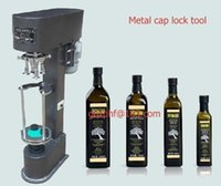 Wholesale Wine bottle cap crimping machine semi automatic capping equipment tools screwing packaging crimper electrical beverage packer
