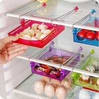Wholesale Refrigerator Fresh Spacer Layer More Efficient Use of Space with Storage Rack Creative Tic Kitchen Shelf B10