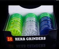 Wholesale 2016 New Plastic Grinder Smoking Grinder Herb Grinder Mix Four Colors Cheaper Grinder Grinder For Tobacco