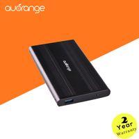 Wholesale HDD Case auorange High quality quot USB Black Aluminum Protect Hard Drive SATA External Enclosure Box
