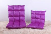 Wholesale 6 gears Lazy sofa couch rice small single sofa chair folding bed floor chair window chair Fashion Mini sofa