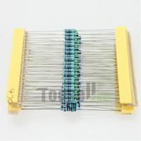 El envío libre 1280 de las PC 64 valores Tipos 10M ohmios Kit 1 / 4W resistor de película metálica Surtido