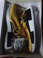 Wholesale Box Laces Receipt NMD quot HUMAN RACE quot Pharrell Williams x Men s Women s Original Classic Cheap Fashion Sport Shoes