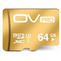 OV micro sd PRO Extreme U3 nouvelle carte mémoire de 90MB / s 16GB 32GB 64GB TF carte de mémoire le meilleur choix pour la vidéo 4K pour Smartphone