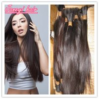 virgin hair bulk - 7A Unprocessed Human Hair Bulks Original Natural Hair Color Can Be Dyed Any Color Pure Natural Chinese Hair Bulks Straight
