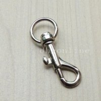Wholesale 25 SWIVEL CLIP SNAP Hook TRIGGER for Webbing bag lanyard purse mm SC11A Color Choice