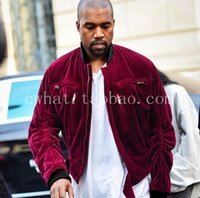 big bang korean - season HAIDER man clothing velour mens designer clothes winter jackets and coats korean big bang kanye west jacket