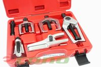 ball rod assembly - 5PC Front End Service Tool Set Separate Pitman Arm Tie Rod End Puller Ball Joint