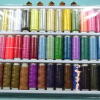achat en gros de polyester fil à coudre de gros-Fil de couture en polyester 39 Couleurs Machine à coudre Quilting Accueil Thread High Intensity Thread Notions de couture Outils de vente en gros 073