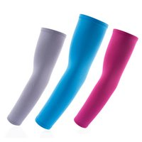 Wholesale Outdoor Sunscreen Sport Sleeves Cycling Gear Arm Warmers Clothing Arm Sleeves Cycling Gloves YS0088