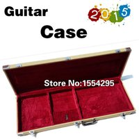 Wholesale Top Quality Guitar Bass Case Rectangular Hardcase Used for guitar and bass
