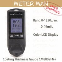 Wholesale Cheap Fe NFe in One Build in Probe Coating Thickness Gauge CM8802FN