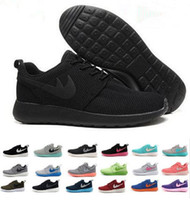 american elastic bands - Brand shoes Roshe running shoes London Mesh RUN sports sneakers bre sneakers breathable European and American Style Men shoes