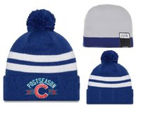 Wholesale 2016 newest Chicago Cubs high quality beanies for men and women knitted hats POSTSEASON