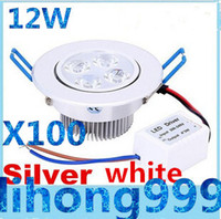 Wholesale CREE W Dimmable Led Recessed Downlights lm Angle Led Ceiling Down Lights cabinet Lamp AC V CE ROHS UL CSA SAA