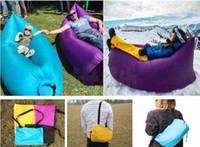 Wholesale Air Lazy Bag Bed Sofa Inflatable Hangout Lounger Holiday Outdoor Camping Beach