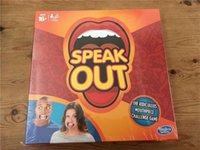 Wholesale Hottest Speak Out Game KTV party game cards for party Christmas gift newest best selling toy from opec
