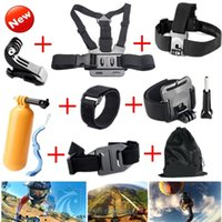 Wholesale Gopro Accessories Chest Head Strap Monopod Floating Bobber Mount for Go pro Hero xiaomi yi action camera sjcam sj4000 GS22