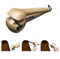 automatic electric iron - LCD Digital Display Automatic Hair Curler Curling Iron Harmless Portable Ceremic Hair Wand