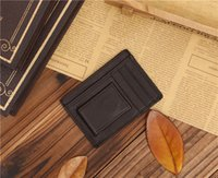 american business customs - wallet ultra thin compact leather multifunctional trendy fashion foreign trade special Manufacturers custom made
