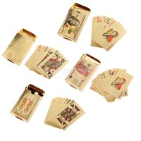 banknote design - Simulated Gold Plated Playing Cards Dollar Euro Banknote Chinese Dragon Design Full Poker Deck Games Gorgeous Gift Party Toy
