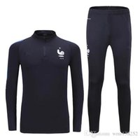 Wholesale DHL Best Quality France training suits France pogba dybala morata training suits Best quality training suits