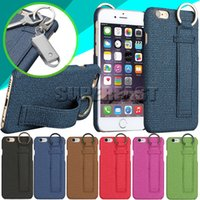 apple plastic key - For Iphone PU Leather Case Cowboy Style Case Key Chain For Iphone S Plus Back Cover Case With OPP Package
