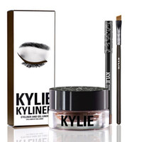 Wholesale Hot makeup Kylie Cosmetics KYLINER Birthday Limited Edition Eyeliner Kit Dark Bronze Black color top quality style DHL free