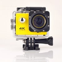 action door - Sports Camera quot ultra K P HD Camera wifi F60 Sport DV out door action camera diving m go pro style extra battery sets