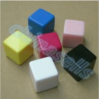 Wholesale hot MM blank dice paintless plain engravable DIY poker Gambling dice ktv dice chess Board game teaching dice
