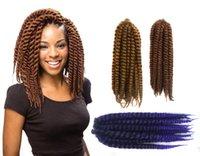 Wholesale 3 X Havana Mambo Twist Afro Hair Bulk Inch CM Kanekalon Hair Bulks