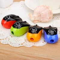 Wholesale Creative Stationery Cute Mouse Pencil Sharpener School Supplies Pencil Sharpeners