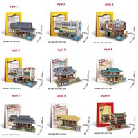 Wholesale Newest styles Building D Puzzles Station Villa Windmill House Puzzle Game0s Gift Toy for Adult Children s Birthday