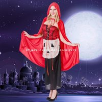 animated carnival - DHL Halloween animated women costumes Halloween Carnival stage show vampire plays terrorist Cosplay hot sale