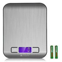 best food scales - Best selling Good quality Household lb kg Digital LCD display Multifunction Stainless Steel Kitchen use Food weighing Scale CK003