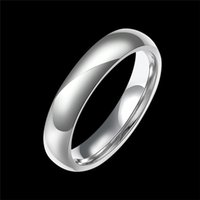 Wholesale Hot Sale Promotion pure Tungsten carbide rings for women men simple personality wedding jewelry top quality