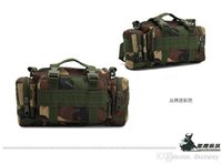 Wholesale military bags Tactical Waist Pack Camping Hiking Backpack Travel Sport D Nylon Waterproof Material colors