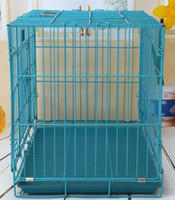 Wholesale high quality dog cage on sale ocean transportation cheap price M L size provide OEM service custom logo and design accepted