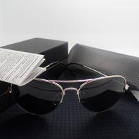 accessories mixing box - 2016 Fashion Men Women Sunglasses Gold Silver Black metal frame Glasses UV400 shades mirror Pilot Eyewear Accessories case box tag