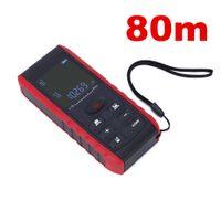 Wholesale 10pcs by dhl fedex Digital Handheld Laser Distance Meter M measuring instrument distance meter for area volume indoor