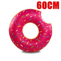 Wholesale 2016 Inflatable Donut Pool Float inflatable flamingo unicorn toys Swim Ring Summer Water Toy pool floats cm cm